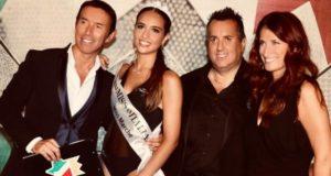 La nuova Miss Marche con Moscatelli, Gurini e Zingaretti