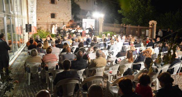 Il pubblico a Palazzo Claudi