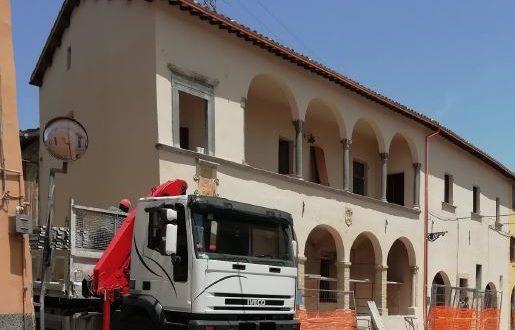 L'edificio storico di Fontenuova