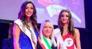 Il sindaco Rosa Piermattei con Rodica Moli (numero 9)