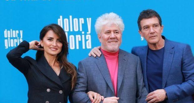 Penélope Cruz, Pedro Almodóvar e Antonio Banderas