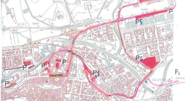 """La """"Mappa"""" di parcheggi e servizi"""