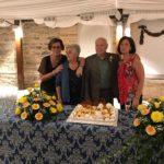 Elia e Renzo con le figlie Roberta e Gabriella