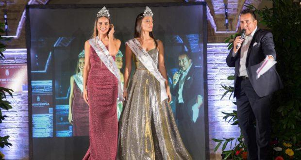 Le due Miss ospiti della serata condotta da Marco Moscatelli