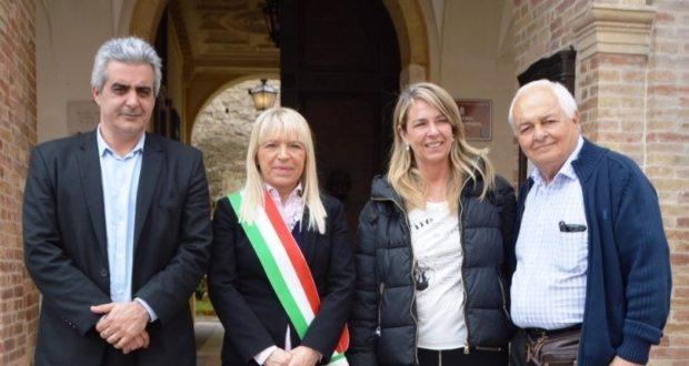 Gli ospiti argentini ricevuti dal sindaco