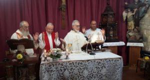L'ultima messa celebrata al convento dei cappuccini di San Severino