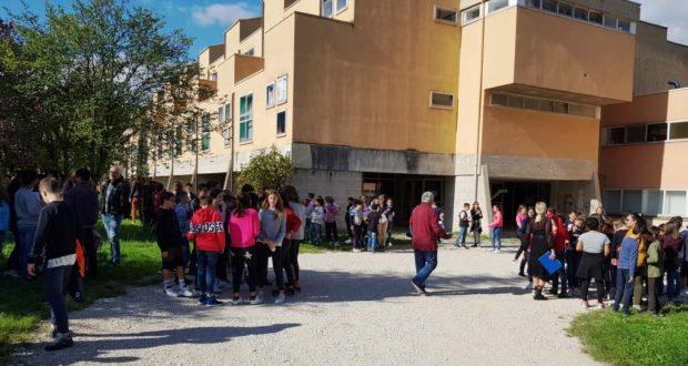 Prove di evacuazione a scuola