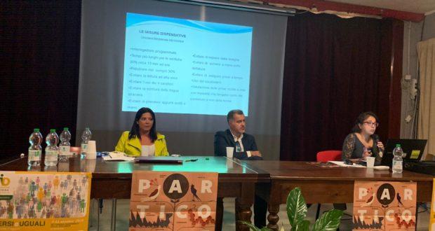 I relatori del convegno sulla dislessia