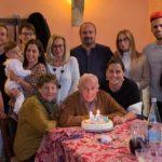 Umberto Moscatelli con i propri familiari