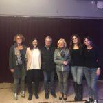 Cristina Marcucci assieme ai relatori del primo incontro