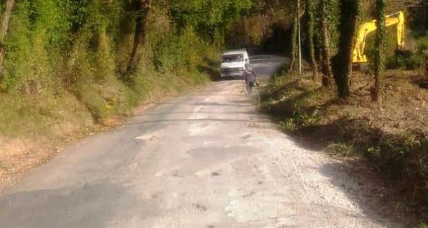 Una delle strade di campagna
