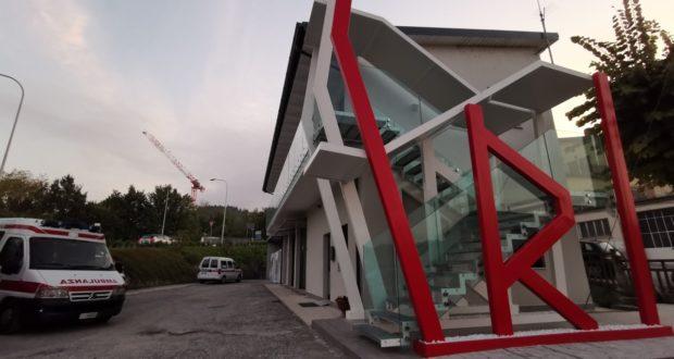 La nuova sede della Croce rossa