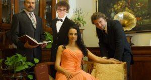 Il quartetto protagonista dello spettacolo gratuito