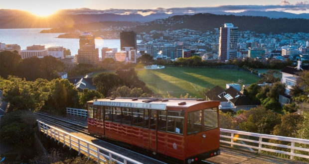 Wellington in Nuova Zelanda
