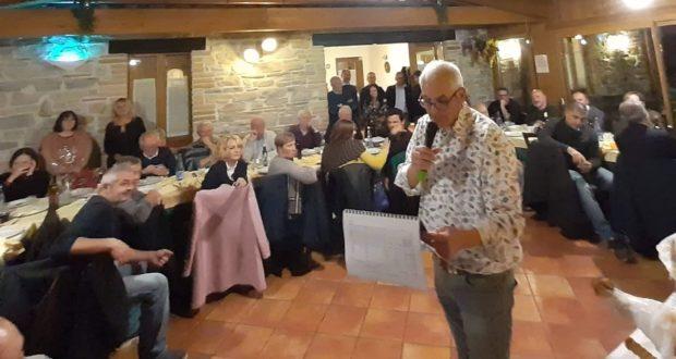 Il consigliere regionale Luigi Zura Puntaroni in un momento del concorso
