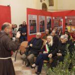 La presentazione della mostra a cura del professor Ciambotti e di fra Pietro Maranesi