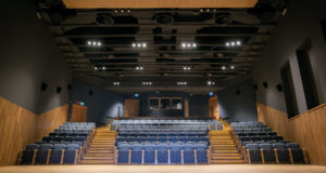 La sala degli spettacoli al Politeama