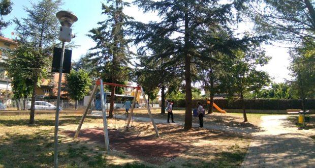 Telecamere di videosorveglianza anche nel parco giochi di via D'Alessandro