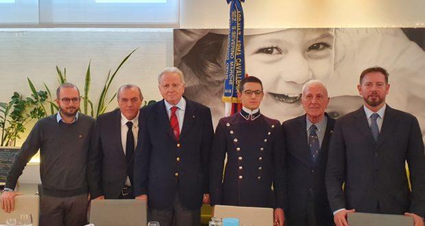 Da sinistra: Orlandani, Castori, Grandinetti, Nardi, Bartera e Giuliani