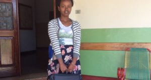 Martha, giovane studentessa etiope