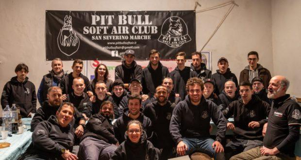 Il gruppo del softair guidato dal presidente Gian Paolo Abosinetti