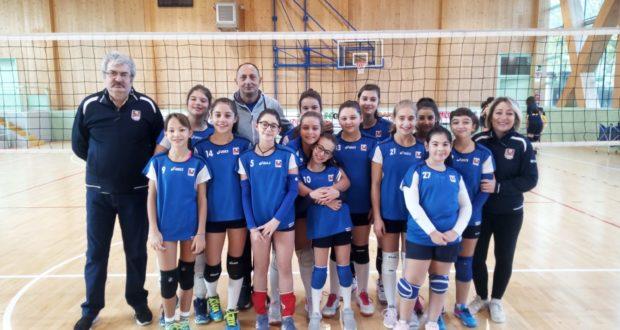 L'Under 13 femminile allenata da Roberto Vagni