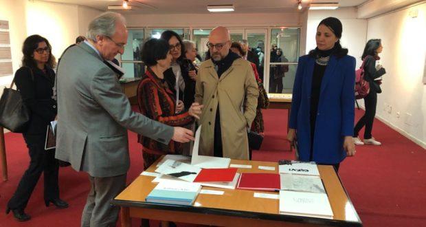 Al centro l'Ambasciatore italiano a Tunisi presente all'evento