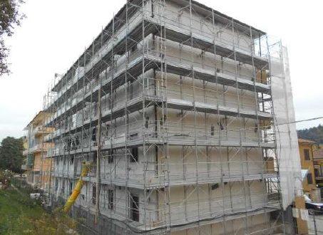 L'edificio in via Caccialupi