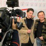 Valerio Scarponi con Dodi Battaglia