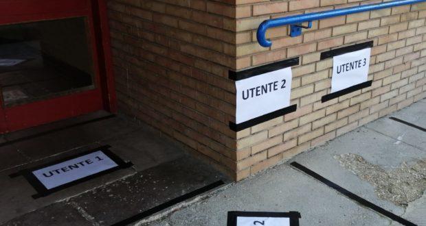 L'ingresso degli uffici Servizi sociali