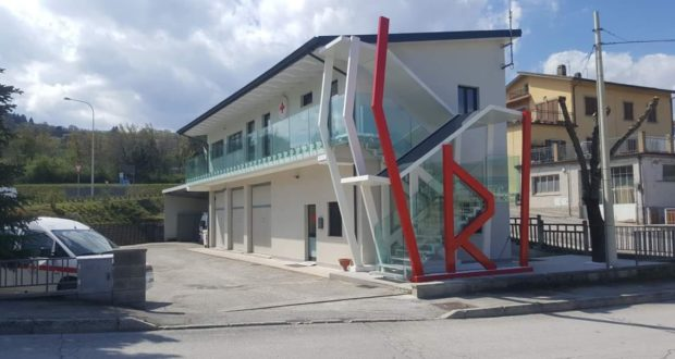 La sede della Croce rossa a San Severino