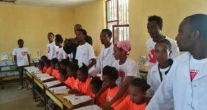 La sesta aula inaugurata nella scuola di Lenda