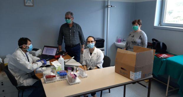 Il Centro di raccolta sangue all'ospedale di San Severino
