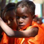 Bambini della scuola di Lenda