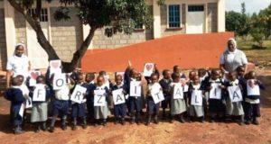 Il saluto dall'Africa