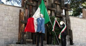 La cerimonia al Monumento alla Resistenza