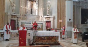 Il cardinal Menichelli presiede la messa alla Madonna dei Lumi