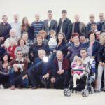La famiglia Sparvoli, 9 anni fa. Ci sono anche Italo e Ines