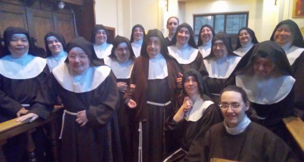 Le Sorelle Clarisse del monastero di San Severino