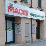Il supermercato Madis in viale Mazzini