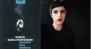 Marta Zura Puntaroni e la copertina del suo libro