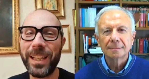 Francesco Rapaccioni e padre Alberto Maggi
