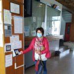 Giuseppina Turchetti timbra il cartellino per l'ultima volta in ospedale