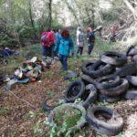 Puliamo i fiumi: iniziativa al fosso di Elcito