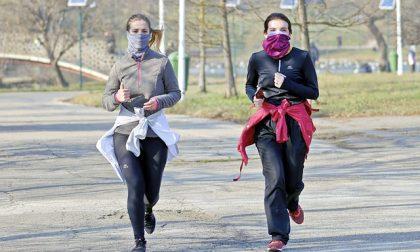 Di corsa con le mascherine qualora venga meno l'obbligo dell'isolamento