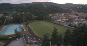 Lo stadio visto dall'alto