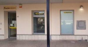 L'ingresso dell'Ufficio postale