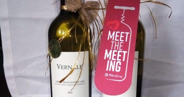 Il vino legato all'iniziativa per il Meeting