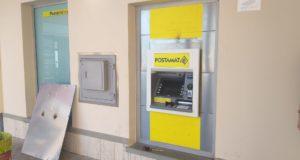 Il nuovo Postamat sistemato all'Ufficio postale di San Severino