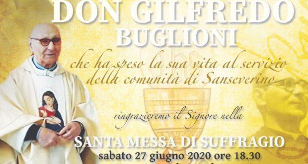 La messa per il 70°esimo di sacerdozio di don Buglioni